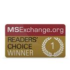 MSExchange.org - Reader's Choice Winner
